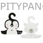 A Little Lovely Company / vállfa szett - pingvin és jegesmedve