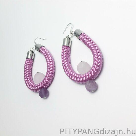 Aurora fülbevaló - rózsaszín