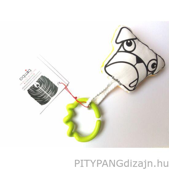 Bimba design/ bulldog csörgő