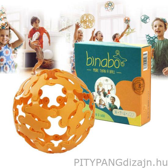 Binabo építőjáték 36 db-os készlet - narancs