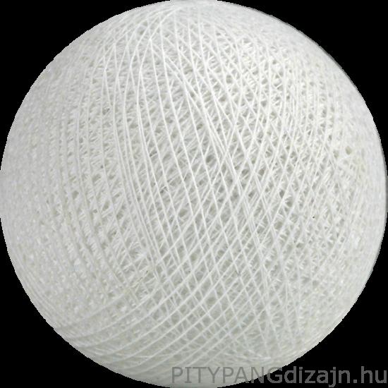 Cotton Ball Lights/ gömbök - white