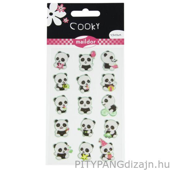 Cooky 3D matricák - Panda