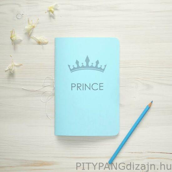 "Dancing Words / "" Prince "" vonalas füzet / kék"