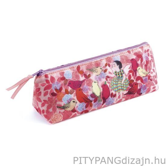 Djeco: Lovely Paper / tolltartó - Elodie pencil case