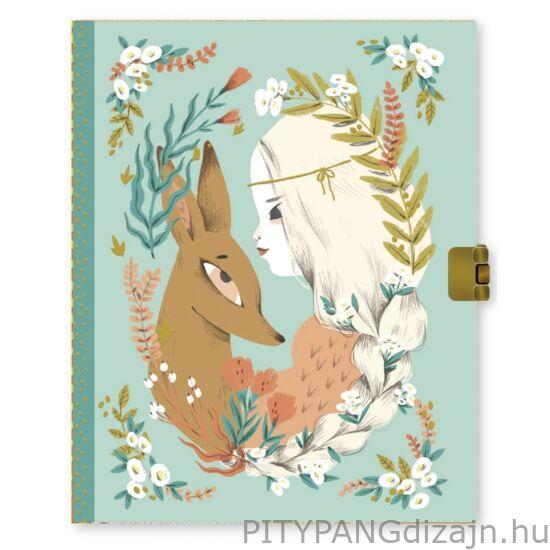 Djeco Lovely Paper / titkos napló - Lucille secrets notebook