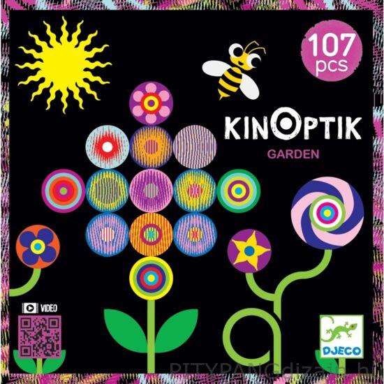 Djeco kirakó / Optikai puzzle - Kert - Kinoptik Garden - 107 db-os