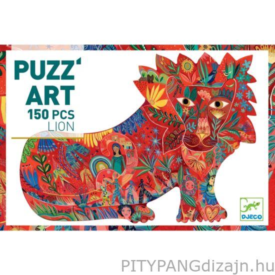 Djeco kirakó / Puzzle - Oroszlán - Lion