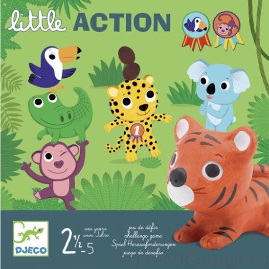 Djeco társasjáték / Little action - Egy kis cselekvés