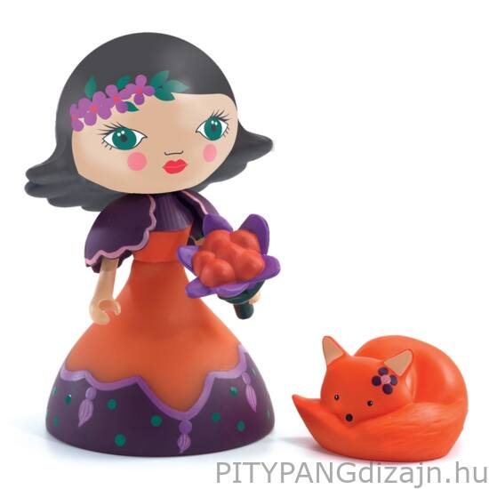 Djeco Arty Toys / Hercegnő rókával - Oya & fox