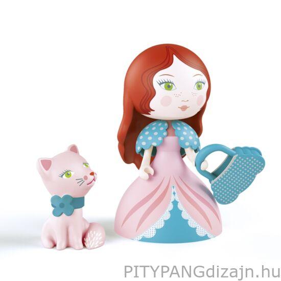 Djeco Arty Toys / Hercegnő cicával - Rosa & Cat