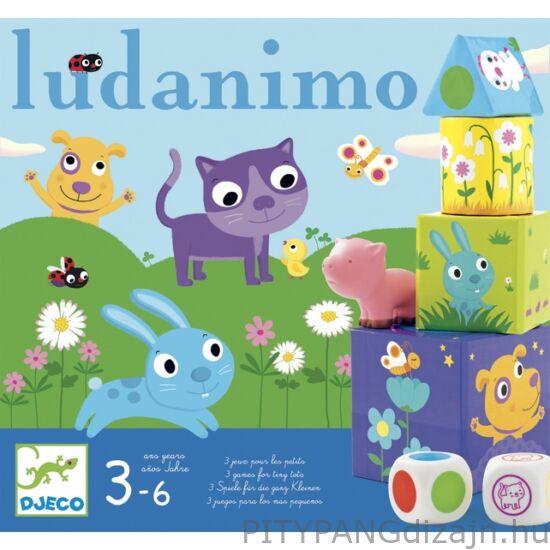 Djeco társasjáték/   Ludanimo - 3 az egyben a kicsiknek