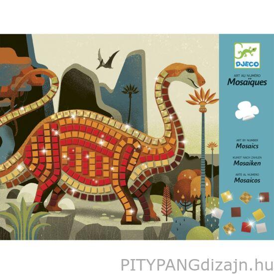 Djeco kreatív készlet / Mozaikkép készítés - Dínók