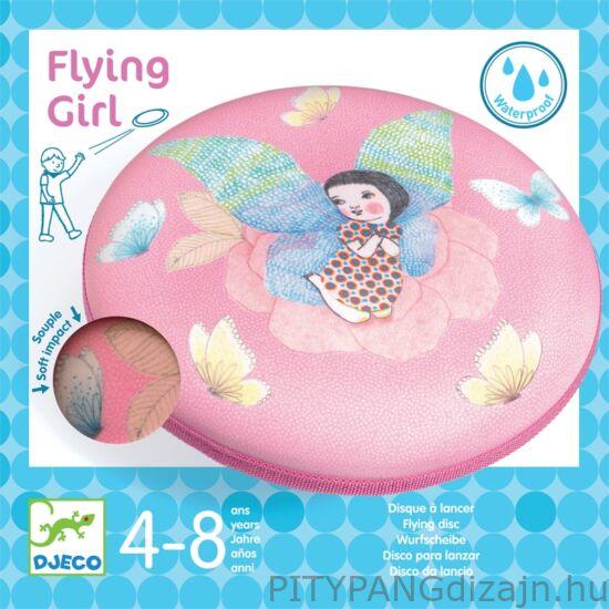 Djeco - játékok / Frizbi - Flying Girl