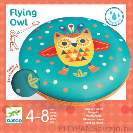 Djeco - játékok / Frizbi - Flying Owl