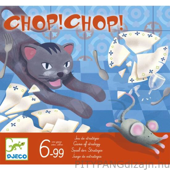 Djeco társasjáték/ Macska egér játék - Chop Chop