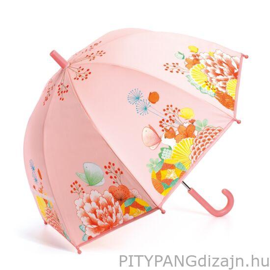 Djeco - esernyő, virágos kert - Flower garden