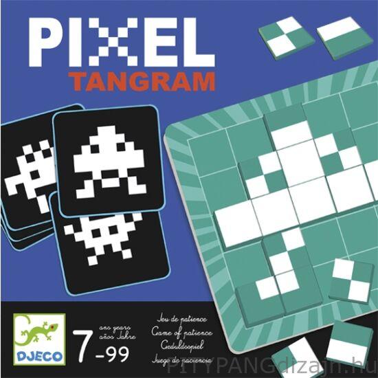 Djeco kirakó / Logikai képkirakó játék - Pixel Tamgram