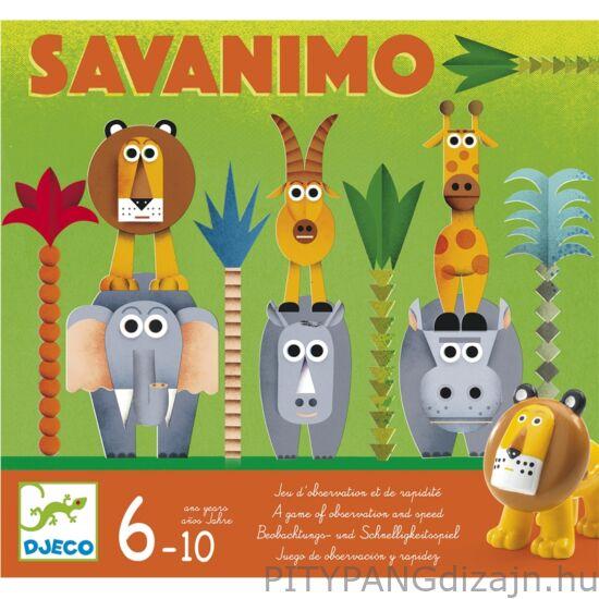 Djeco társasjáték/ Vadászat - Savanimo
