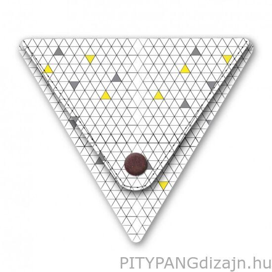 I like paper / Háromszög pénztárca - NERDY - Triangle Purse Small