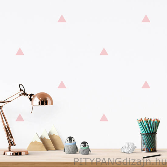 Falimatrica/ Háromszög- rózsaszín