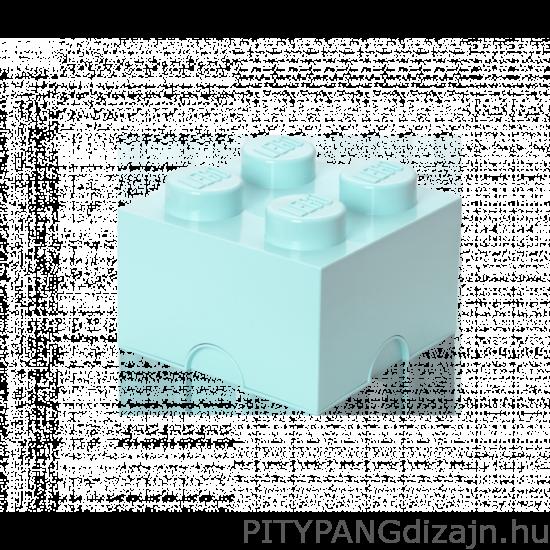 LEGO tárolódoboz 4-es / aqua