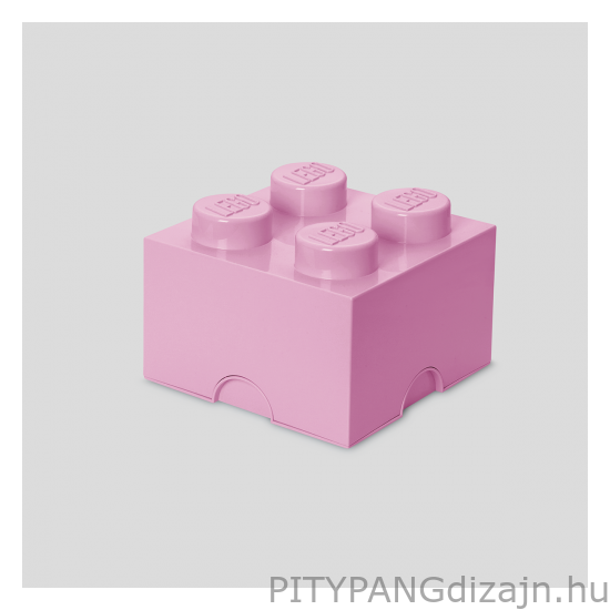 LEGO tárolódoboz 4-es / rózsaszín
