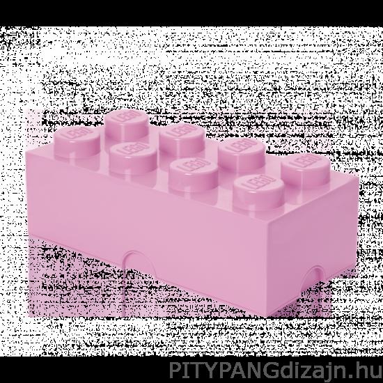 LEGO tárolódoboz 8-as / rózsaszín