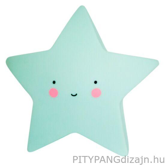 Mini lámpa / csillag - menta