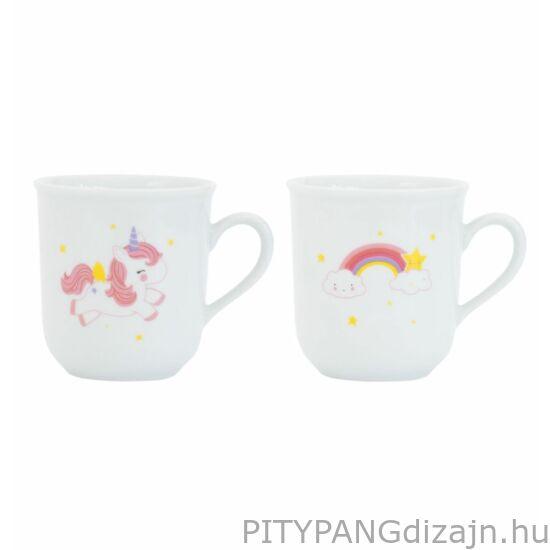 A Little Lovely Company / porcelán csésze - unikornis