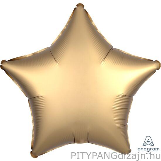 Lufi / Anagram / Gold Sateen Star - csillag alakú lufi