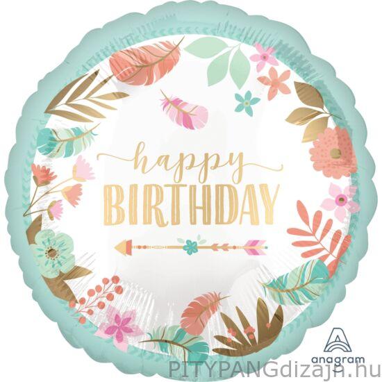 Lufi / Anagram / 18 inch Happy Birthday lufi