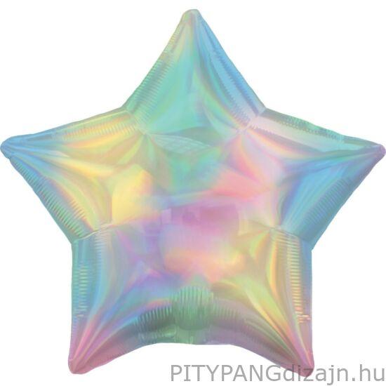 Lufi / Hologrammos Pastel Fólia lufi 43 cm