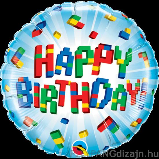 Lufi / Qualatex / Birthday lego lufi