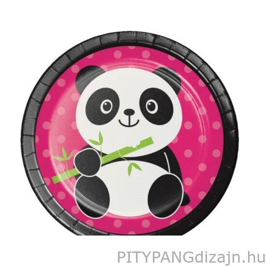 Panda parti kistányér
