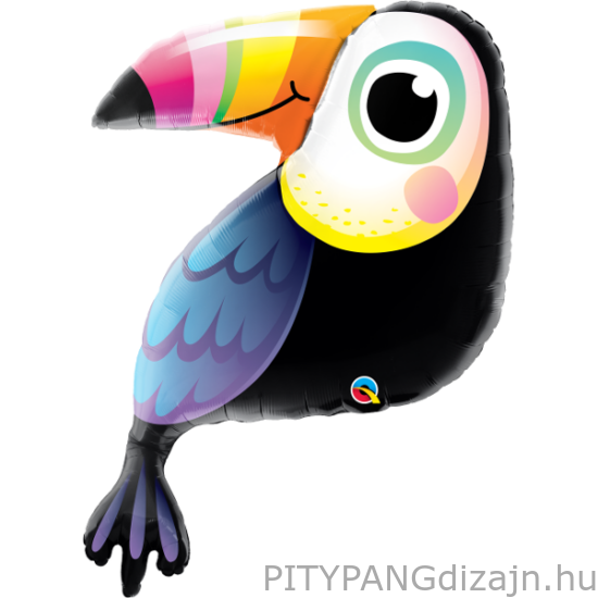 Lufi / Qualatex / Colorful Toucan