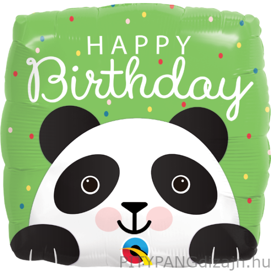 Lufi / Qualatex / Birthday panda
