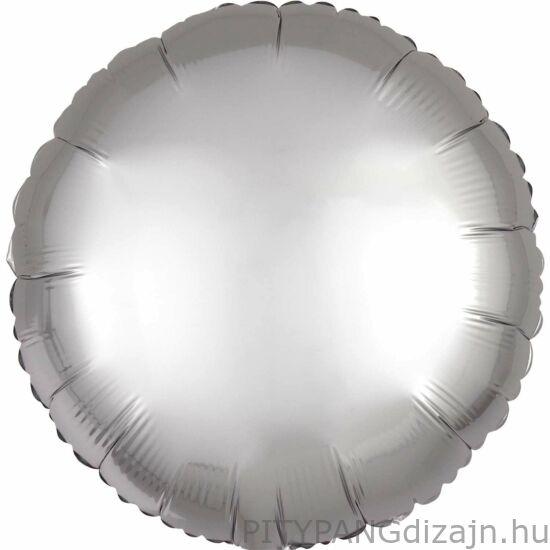 Lufi / Anagram / Chrome Ezüst - Silver Kerek Fólia Lufi