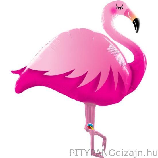 Lufi / Qualatex / Pink Flamingo Super Shape Fólia Lufi