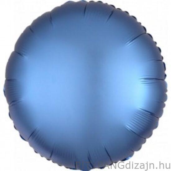 Lufi / Anagram / Chrome Kék - Blue Kerek Fólia Lufi
