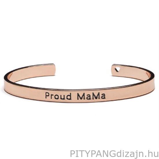 Proud MaMa karperec, rose gold