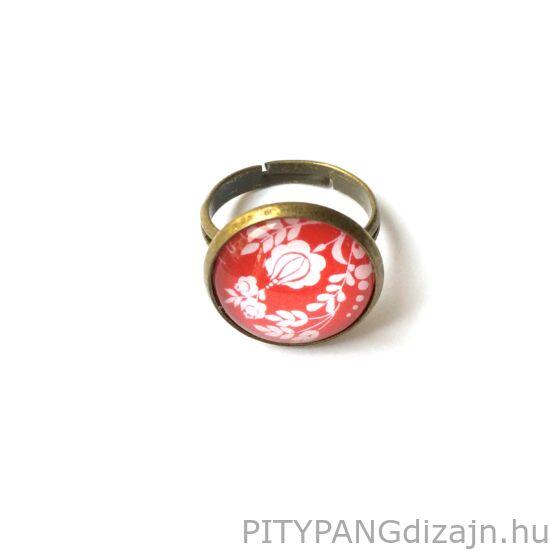 Soady Art ékszerek / gyűrű - virágos