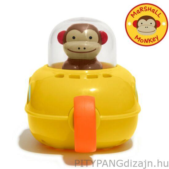 SKIP HOP játék/ fürdőjáték, felhúzható tengeralattjáró majom