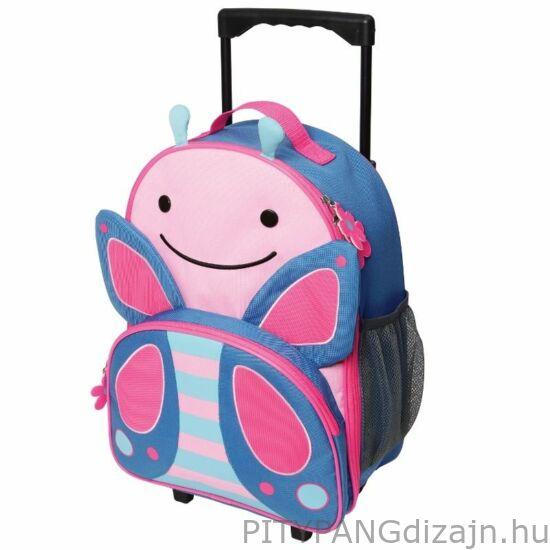 SKIP HOP bőrönd/ pillangó