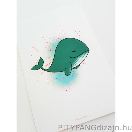 Soady Art - kép, bálna