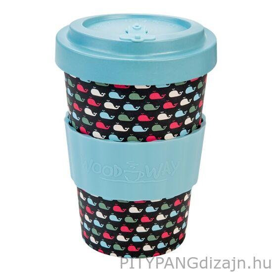 Woodway / Kávés pohár / Whales (400ml)