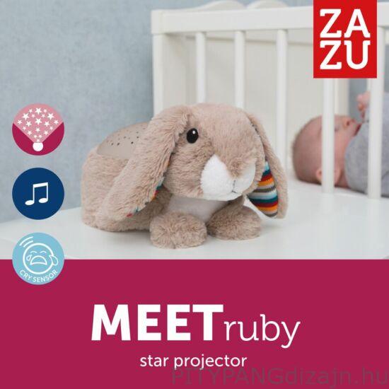 ZAZU - csillagkivetítő plüss nyugtató dallamokkal, Ruby nyuszi