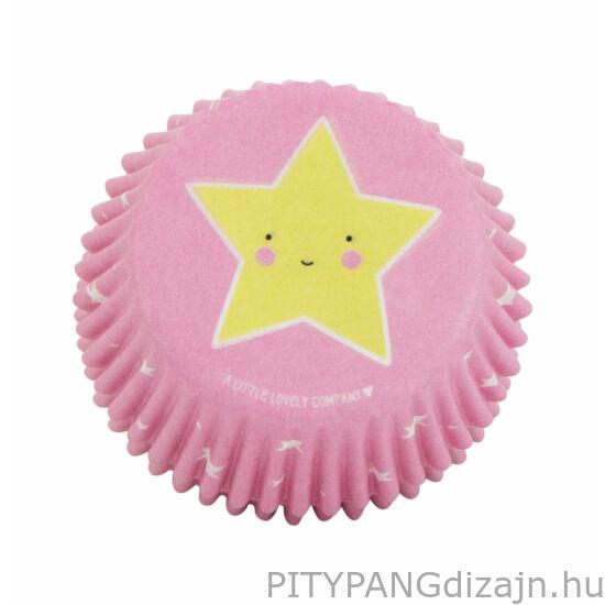 A Little Lovely Company – Cupcake kapszli, unikornis