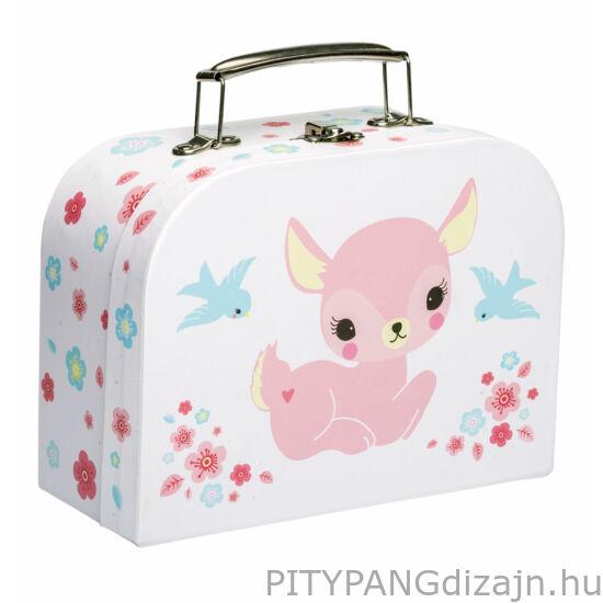 A Little Lovely Company – Mini bőrönd, őzike