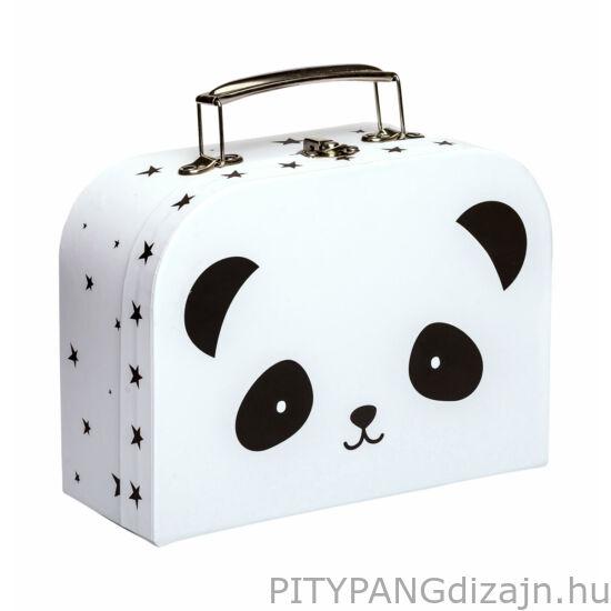 A Little Lovely Company – Mini bőrönd, panda
