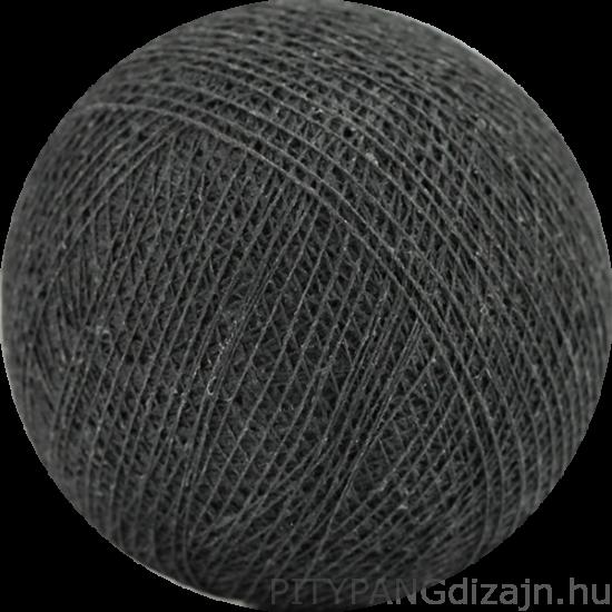 Cotton Ball Lights/ gömbök - antracite